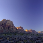 HDR Red Rock Canyon